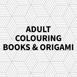 Adult Colouring Books & Origami