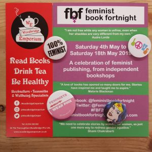 Feminist Book Fortnight at Woodbridge Emporium